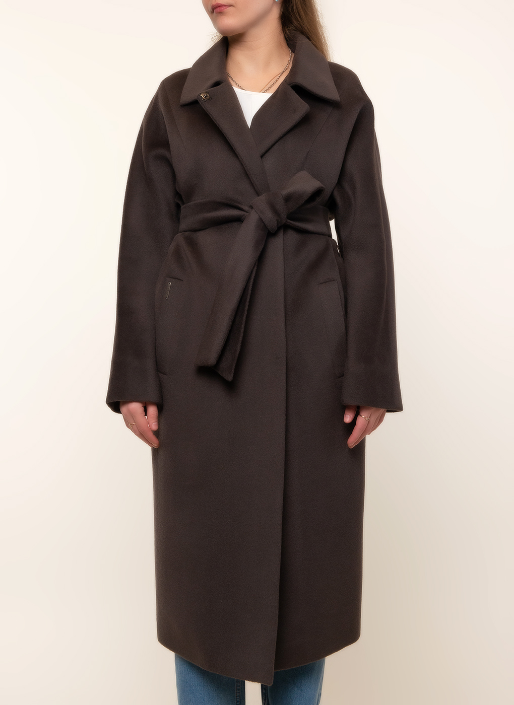 Пальто прямое шерстяное 65, idekka фото