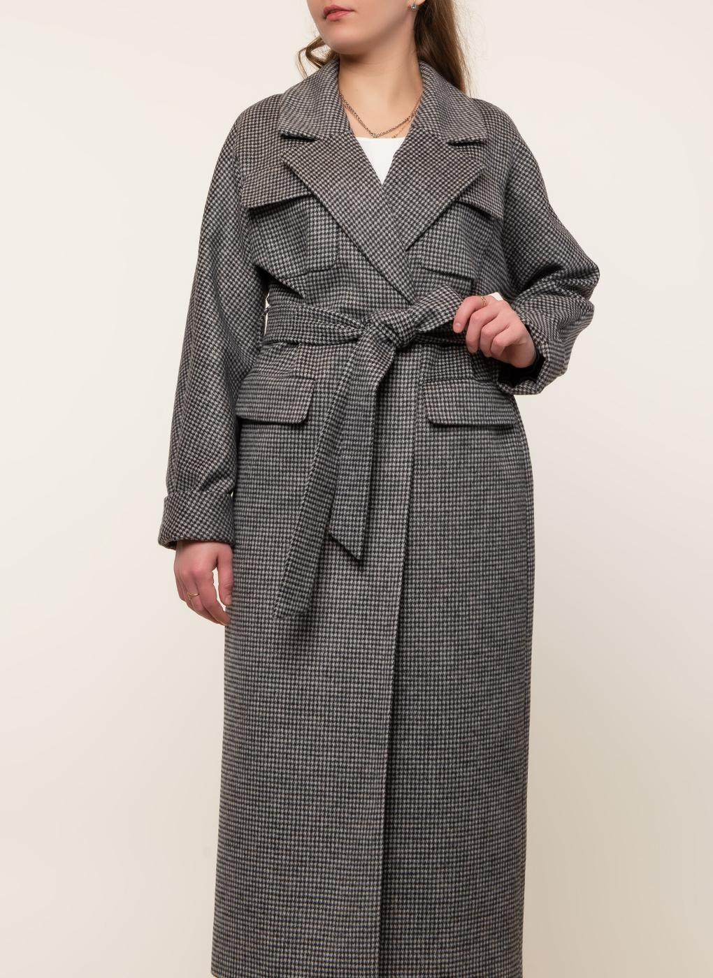 Пальто полушерстяное 52, Заря Моды фото