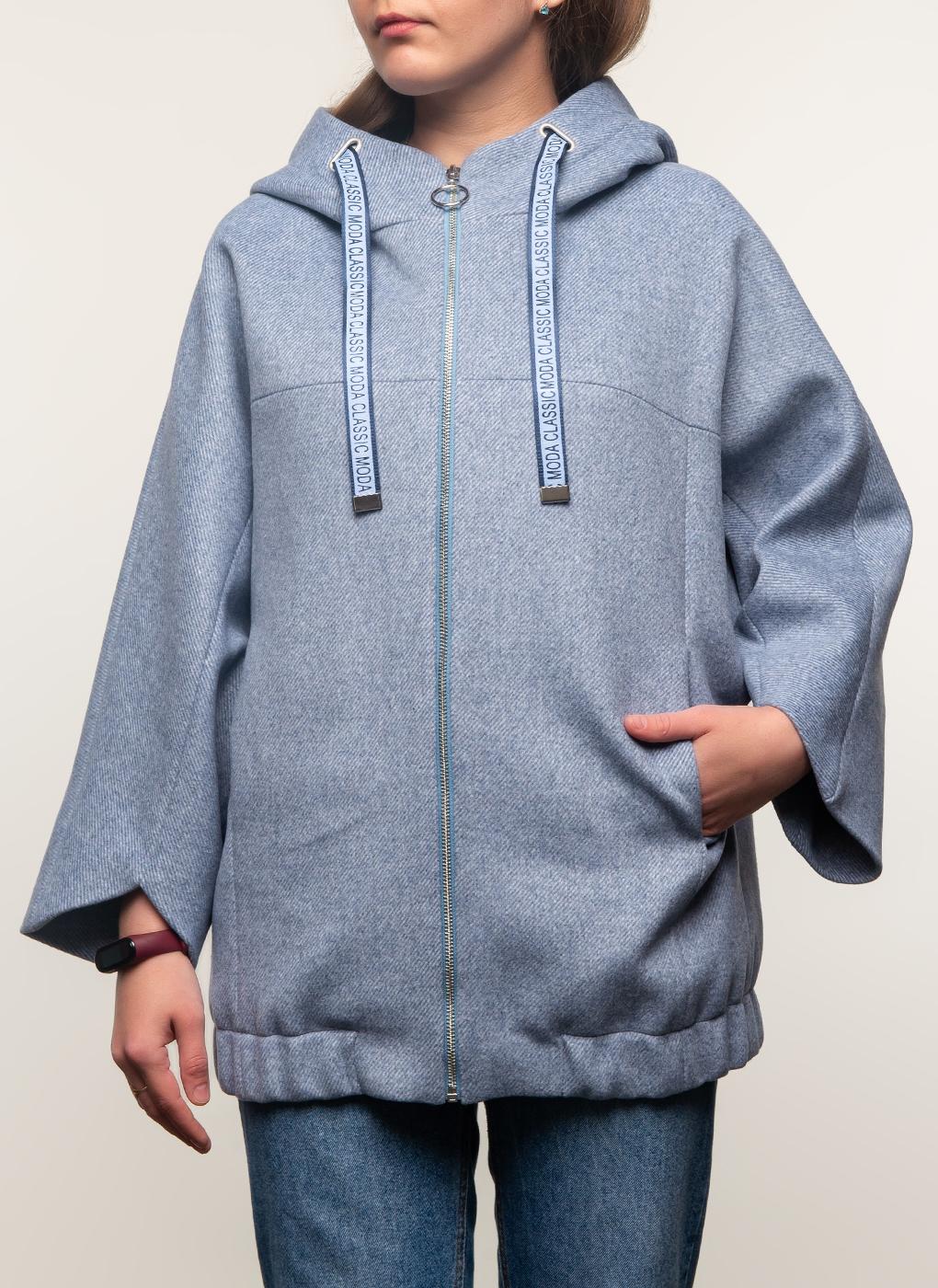 Пальто укороченное полушерстяное 160, КАЛЯЕВ фото
