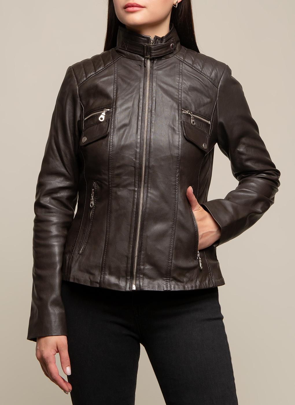 Кожаная куртка 15, КАЛЯЕВ фото