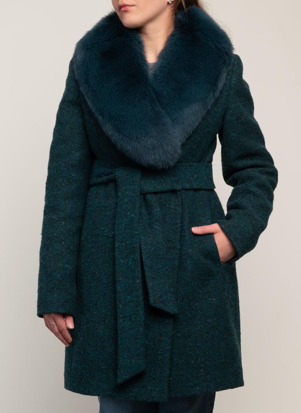 Пальто приталенное полушерстяное 03, Galla Lady