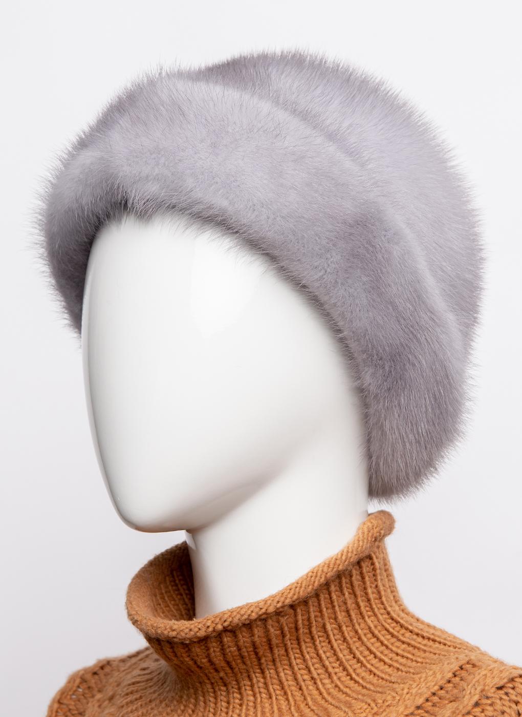 Шляпа из норки 154 с утеплителем, КАЛЯЕВ фото