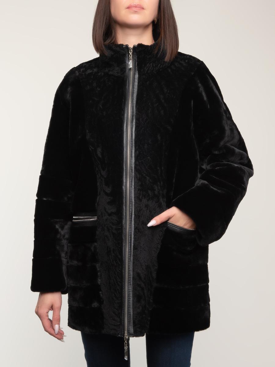 Куртка из овчины 03, Шафель фото