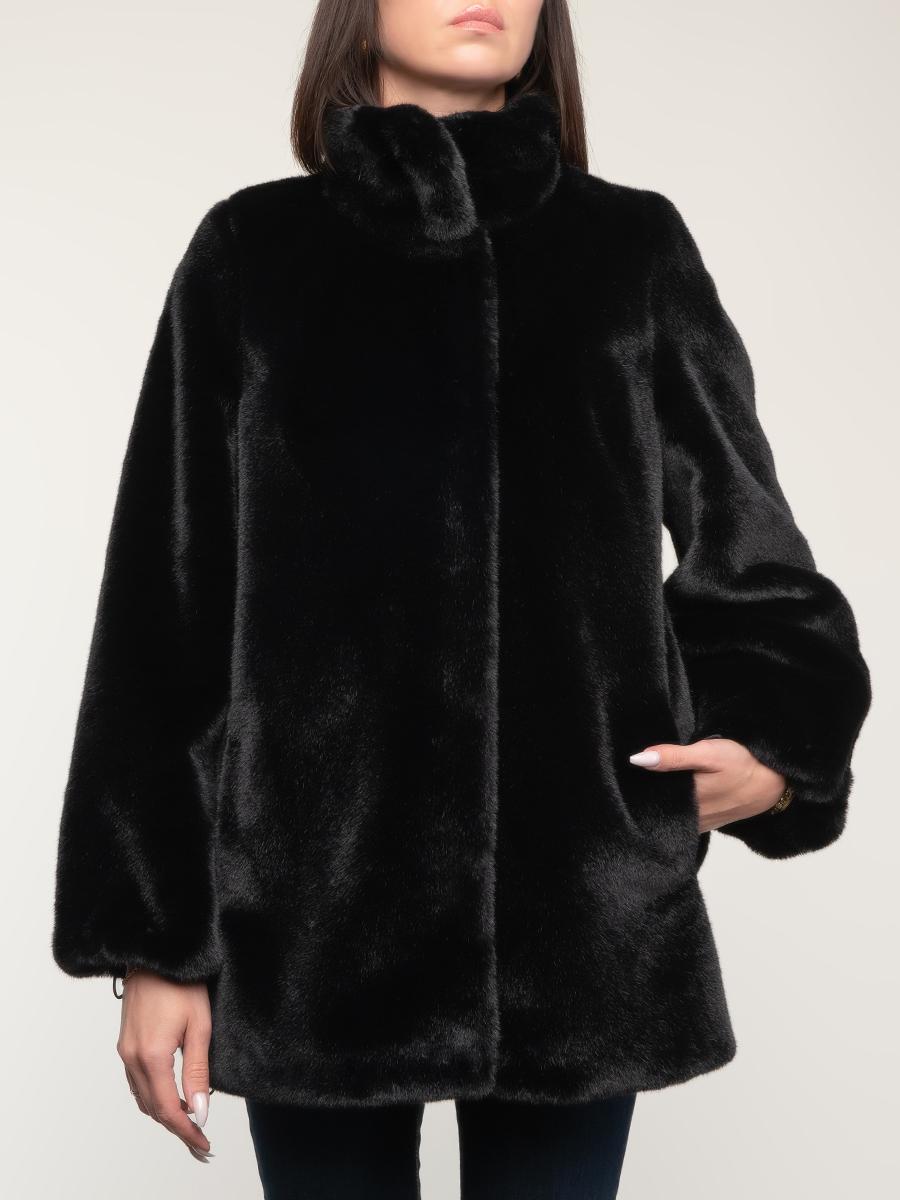 Пальто укороченное фактурное 08, КАЛЯЕВ фото