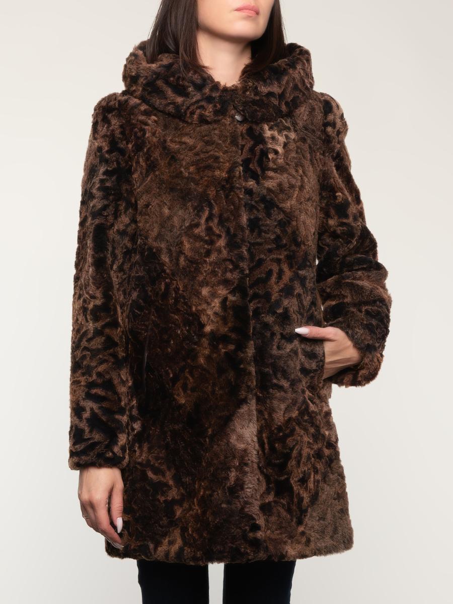 Пальто прямое из овчины 01, Panofics