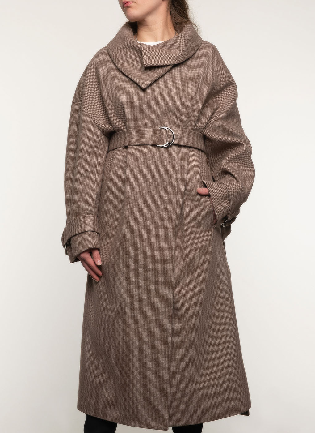Пальто полушерстяное 111, idekka фото