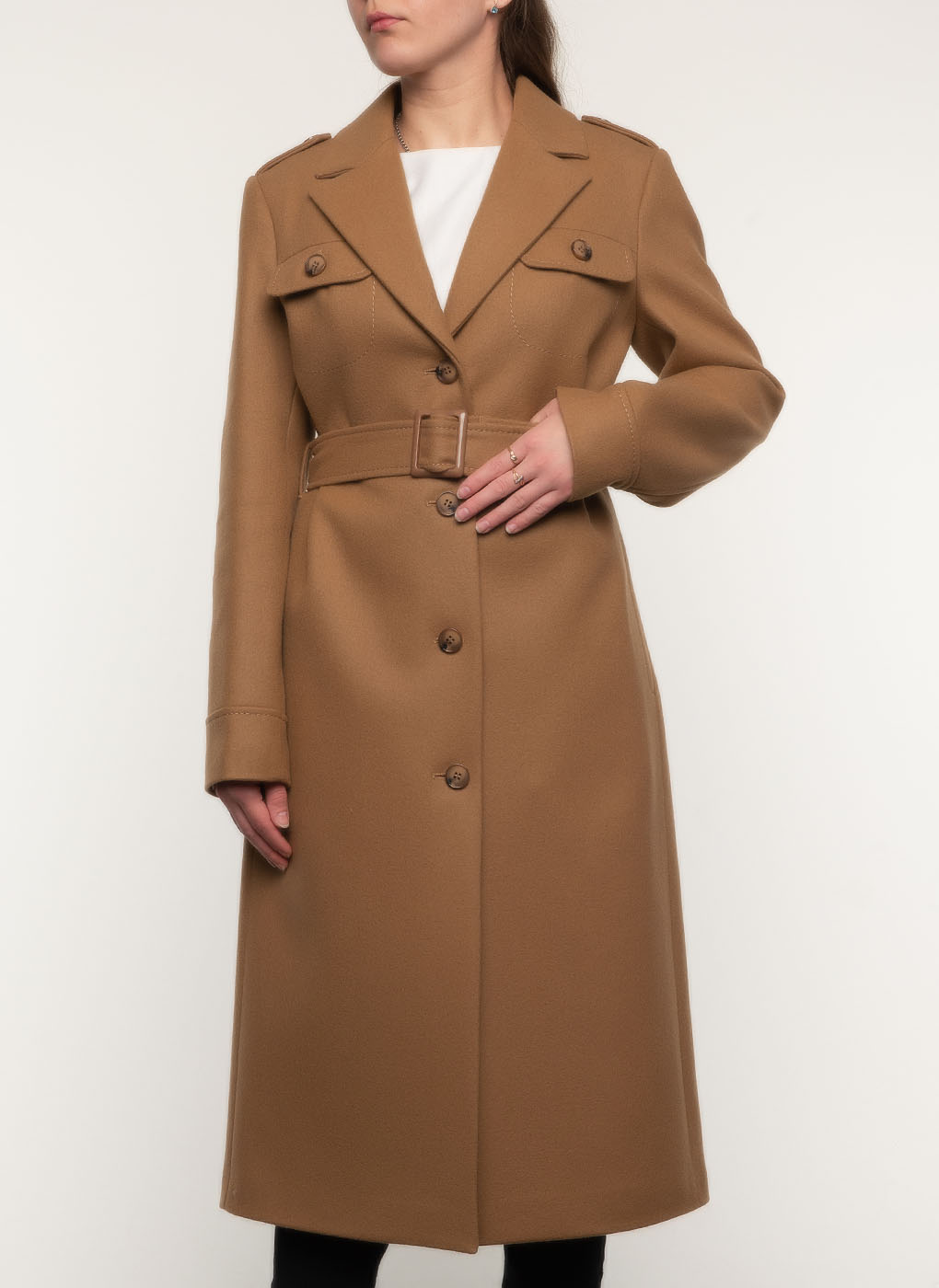 Пальто шерстяное 114, idekka фото