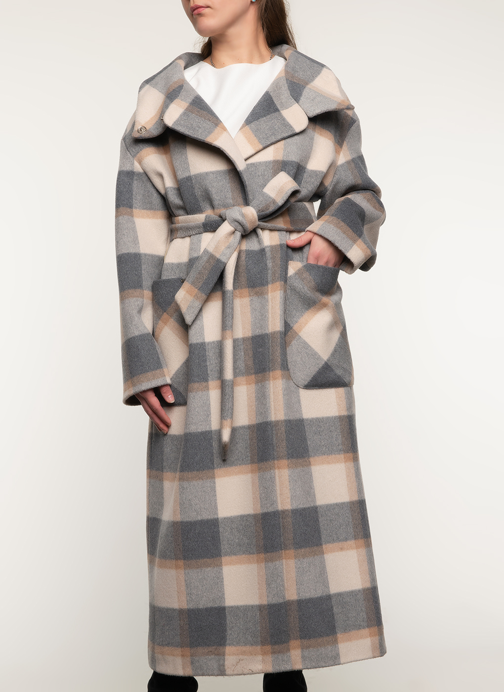Пальто полушерстяное 115, idekka фото