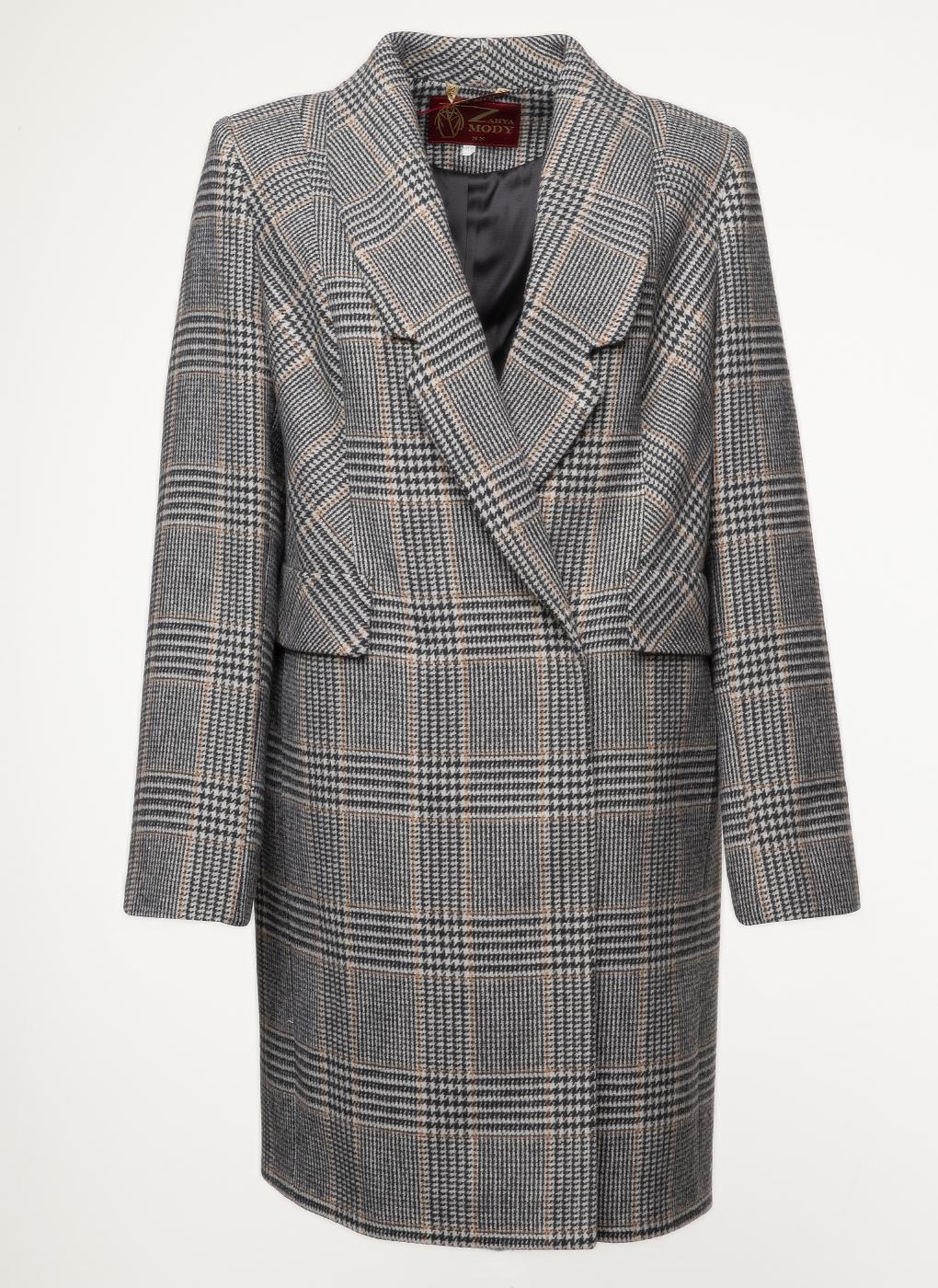 Пальто полушерстяное 62, Заря Моды фото