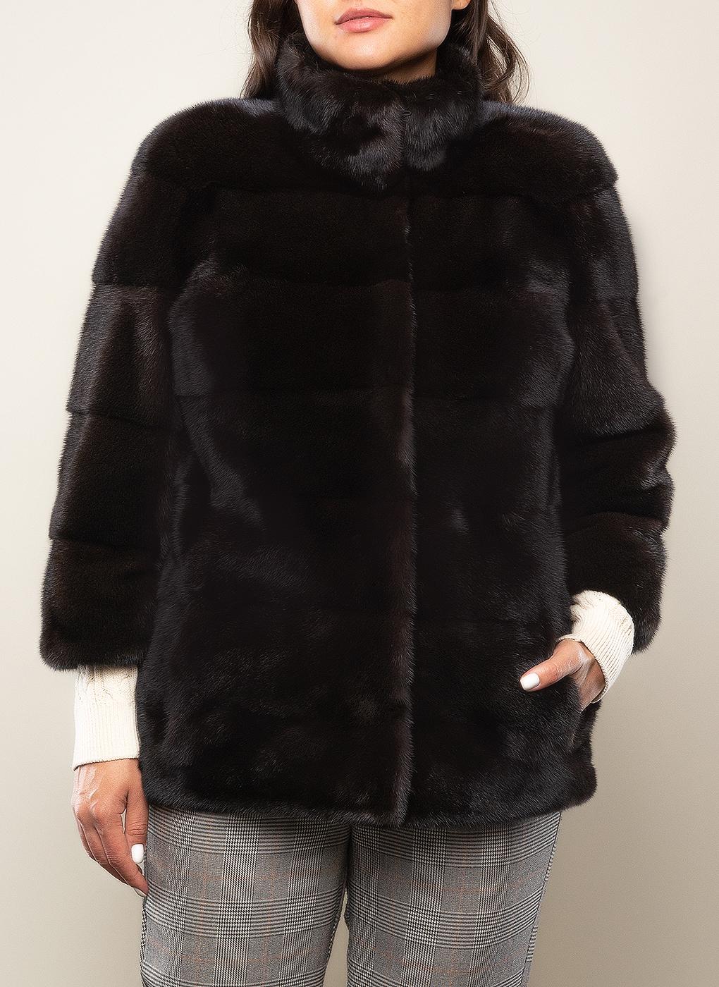 Норковая куртка Джульетта 01, Новый Меховой фото