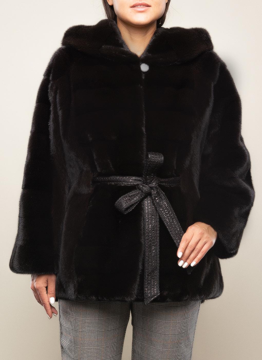 Норковая куртка Анастасия 01, LEON Elite фото