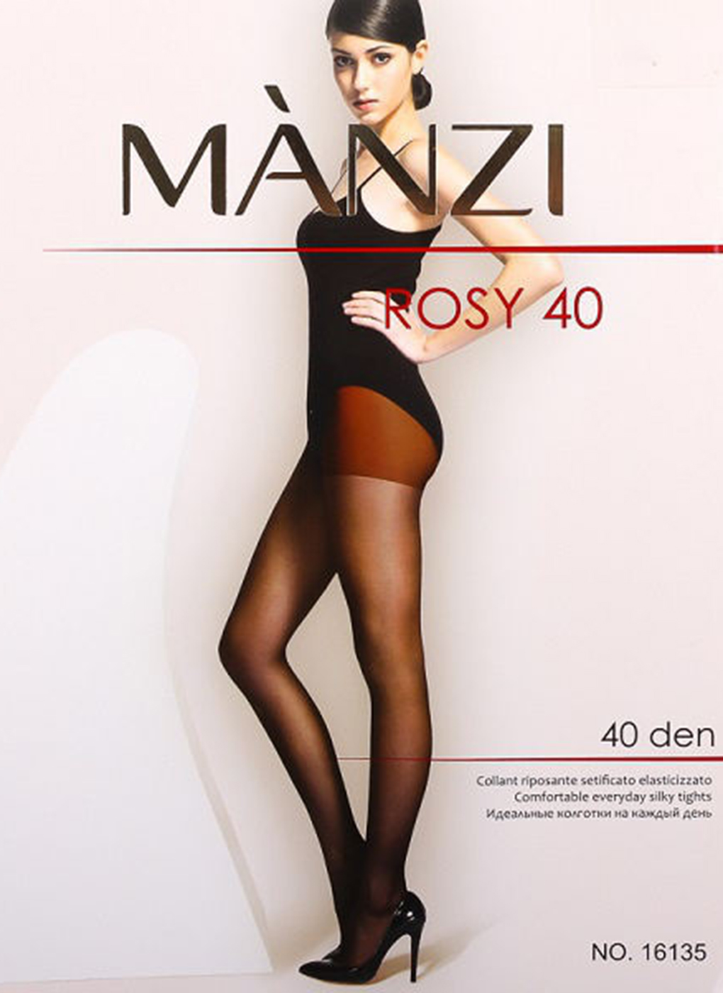 Колготки женские Rosy 40 Den 01, Manzi фото