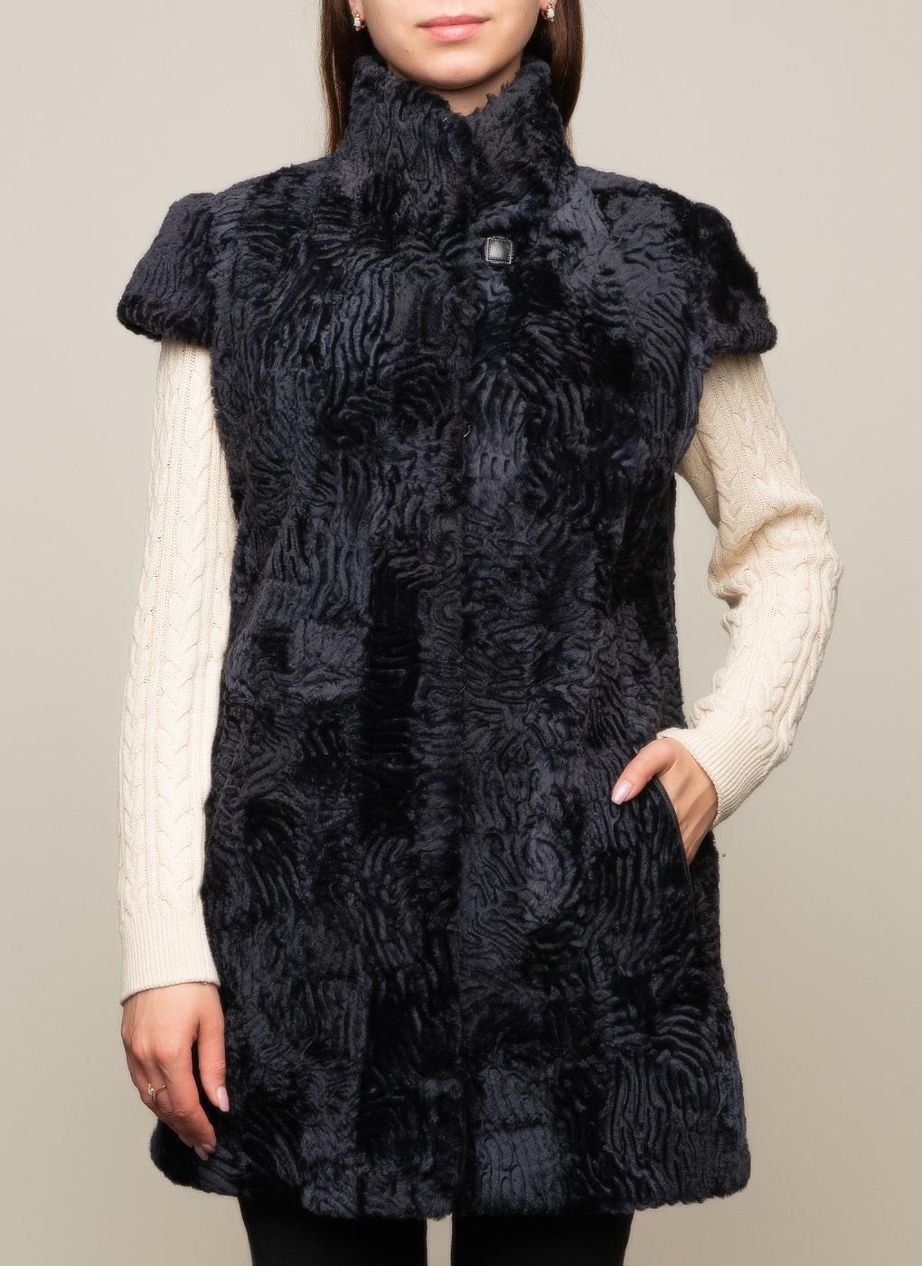 Жилет из овчины 01, Anna Romanova furs