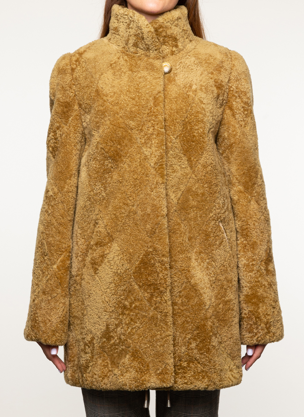Куртка из овчины прямая 03, Anna Romanova furs фото