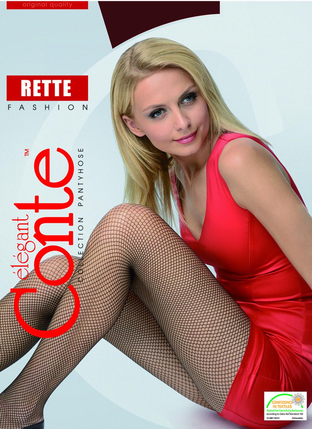 Колготки женские Rette Micro 01, Conte elegant фото