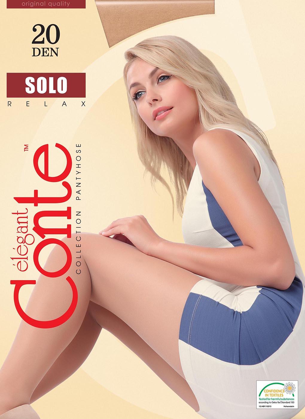 Колготки женские Solo 20 Den 04, Conte elegant фото