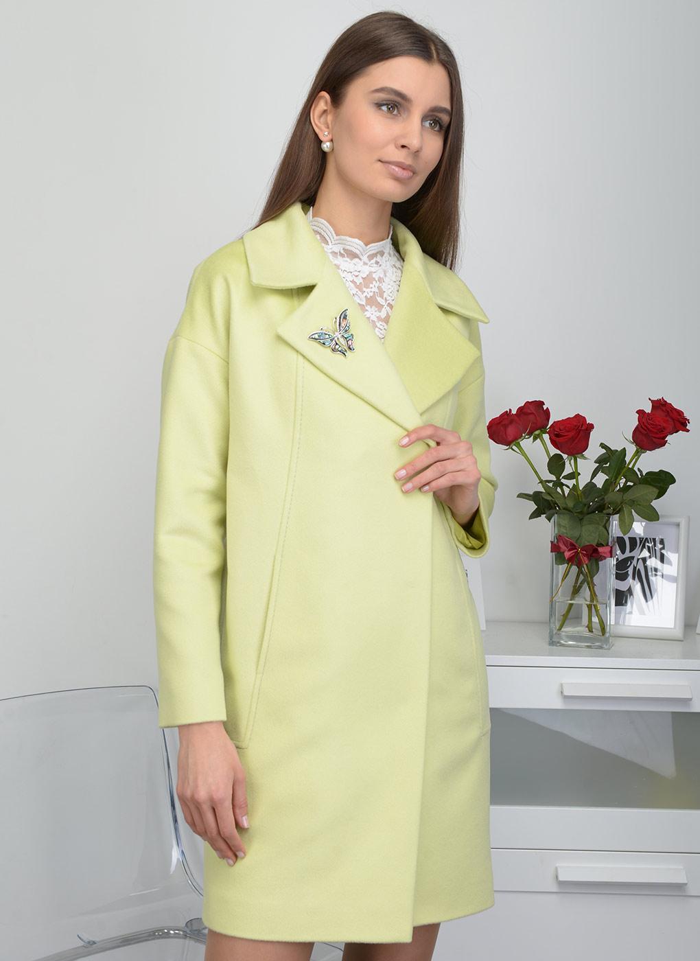 Пальто прямое шерстяное 76, Bella collection фото